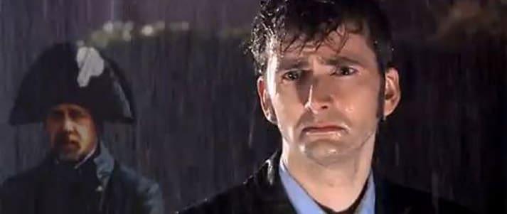 David tennant in the rain