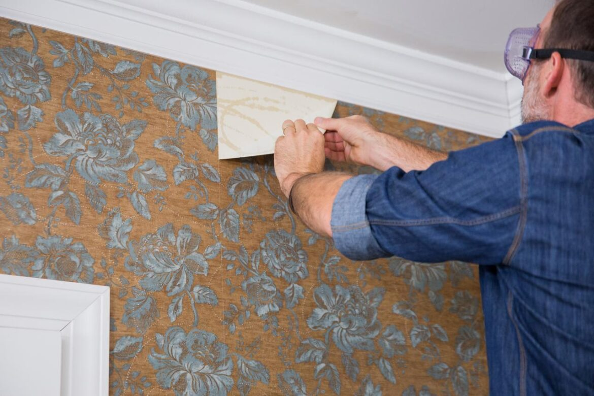 How to remove wall paper
