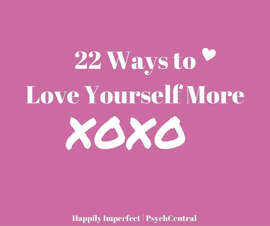 How to love urself