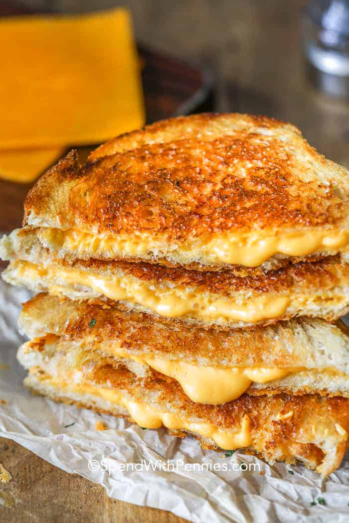 How to make grilled cheese