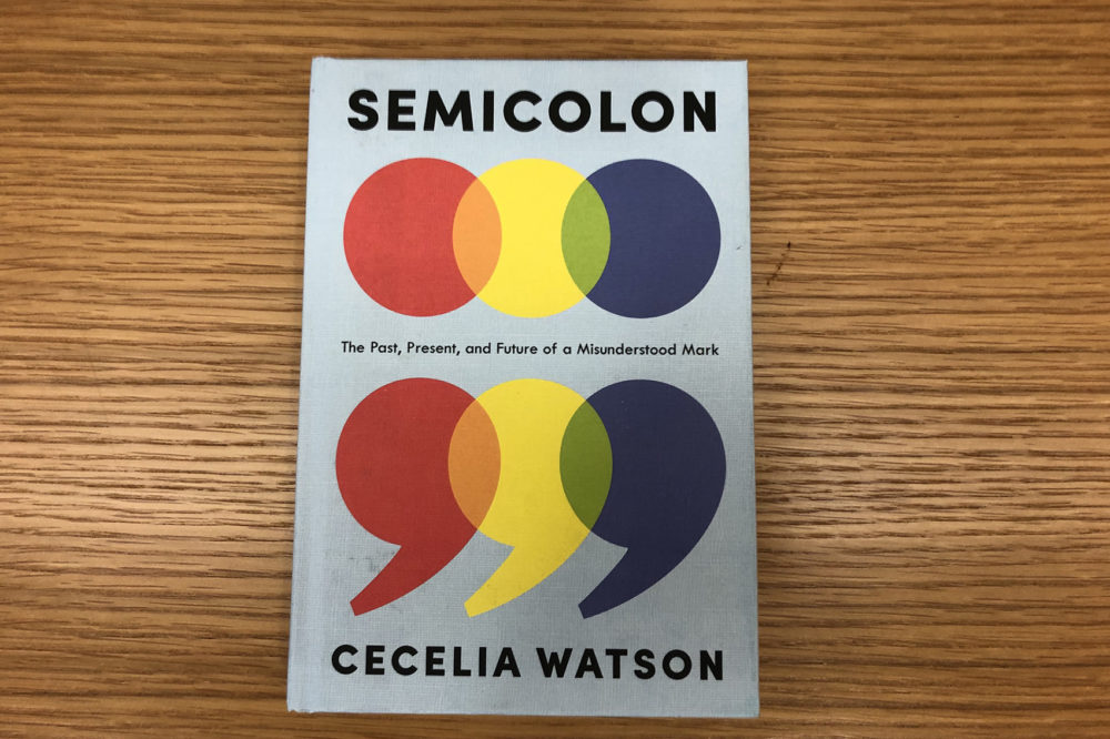 How to use a semi colon