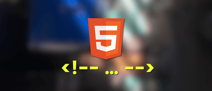 Html how to comment