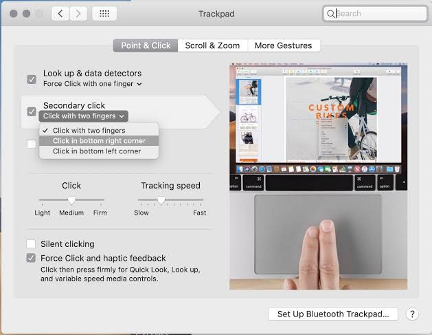 Mac how to right click