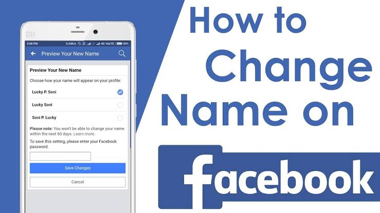 How to change your name on Facebook in 2020