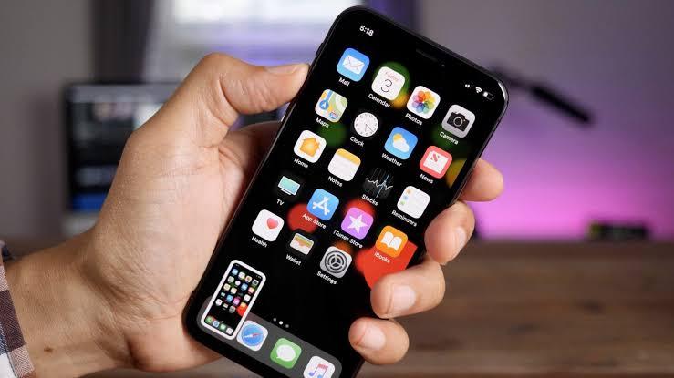 How to take a screenshot in i Phone