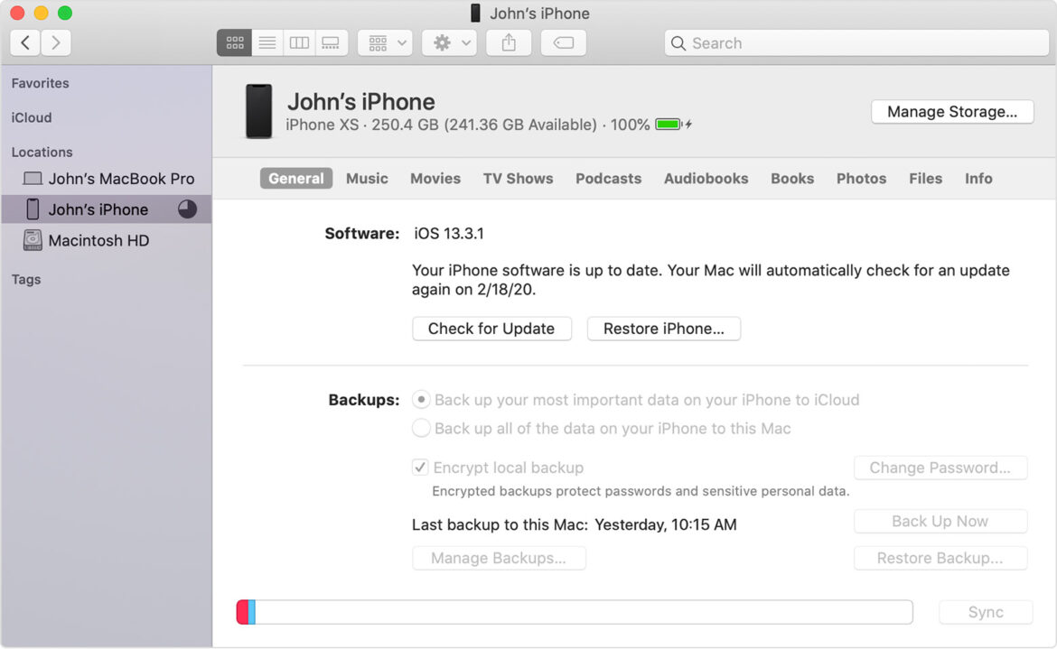 How to backup iphone to cloud