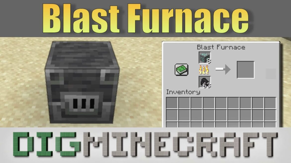 How to make a blast furnace