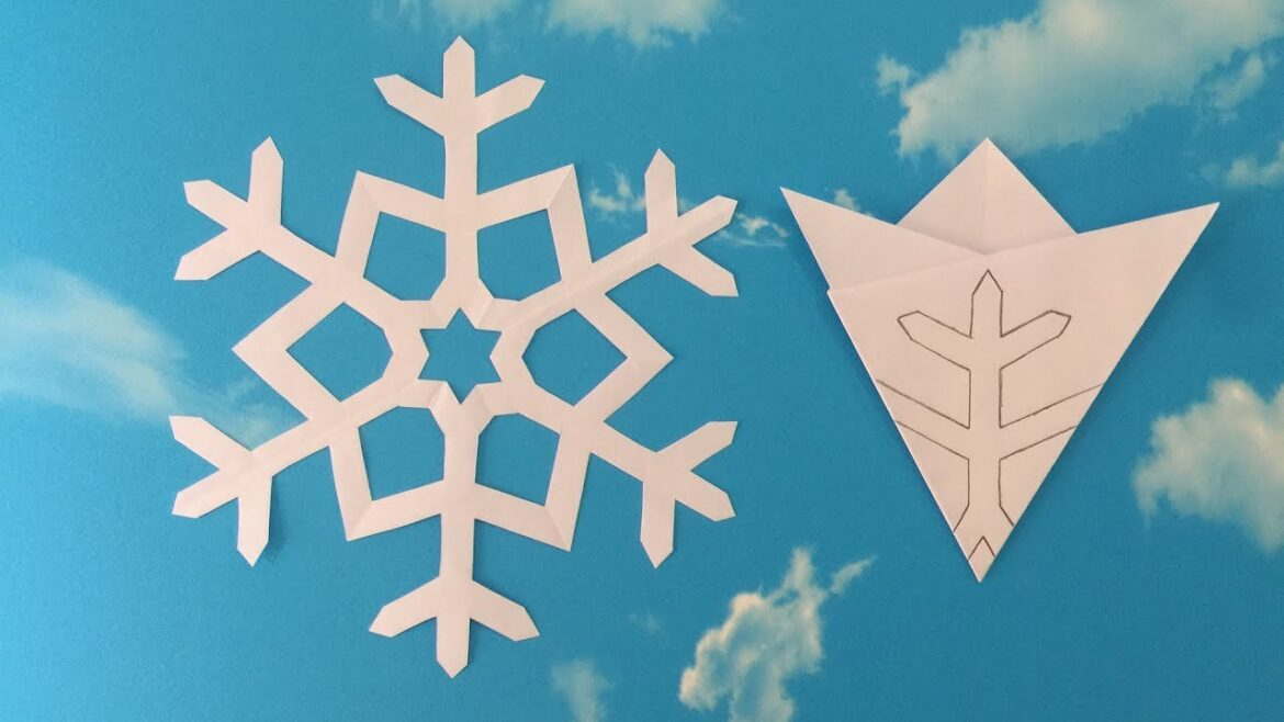 How to make snow flakes
