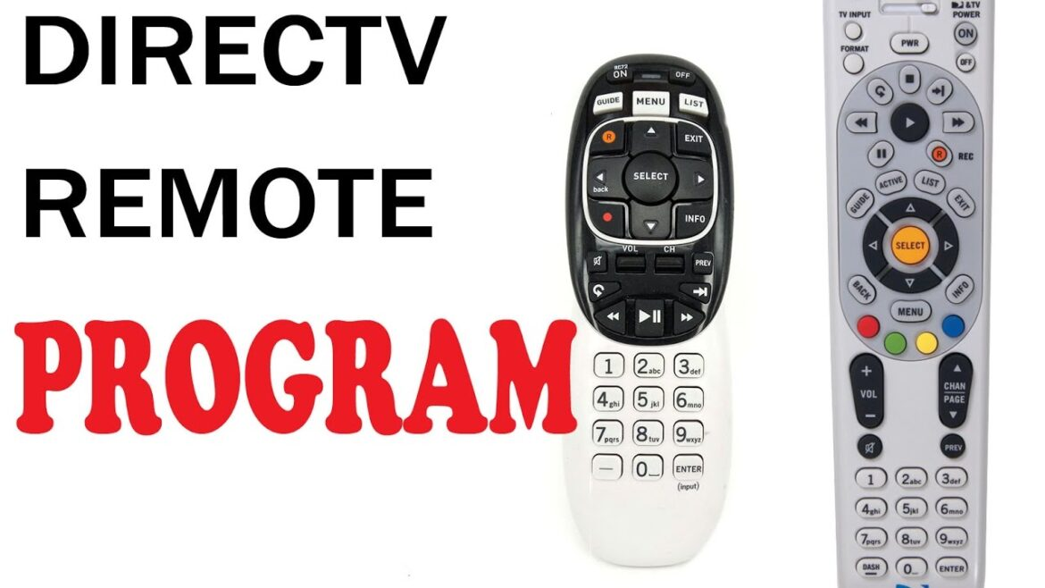 How to program direct Tv remote