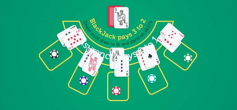 How to pay black jack